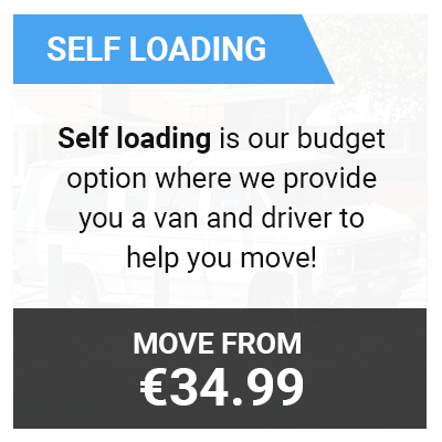 man with van self loading