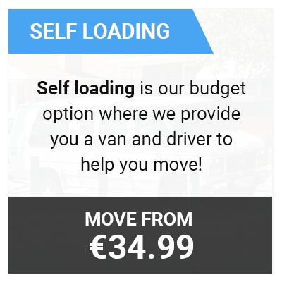 man with van self loading