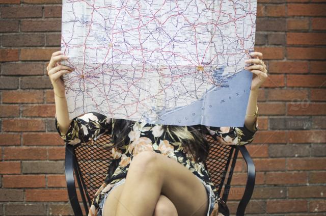 checking map