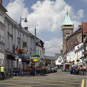 Business News Wales Abergavenny Town Center